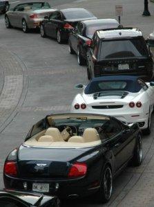 Bentley's, Ferrari's and Royce's OH MY!